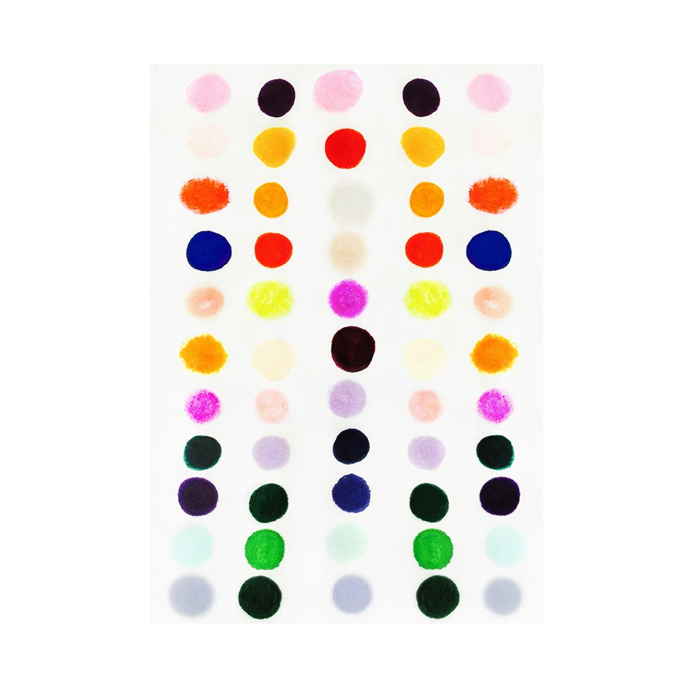 DOTS - TRADITIONAL GALLERY PRINTCANVAS GALLERY WRAPLUXE LUCITE SHADOWBOX