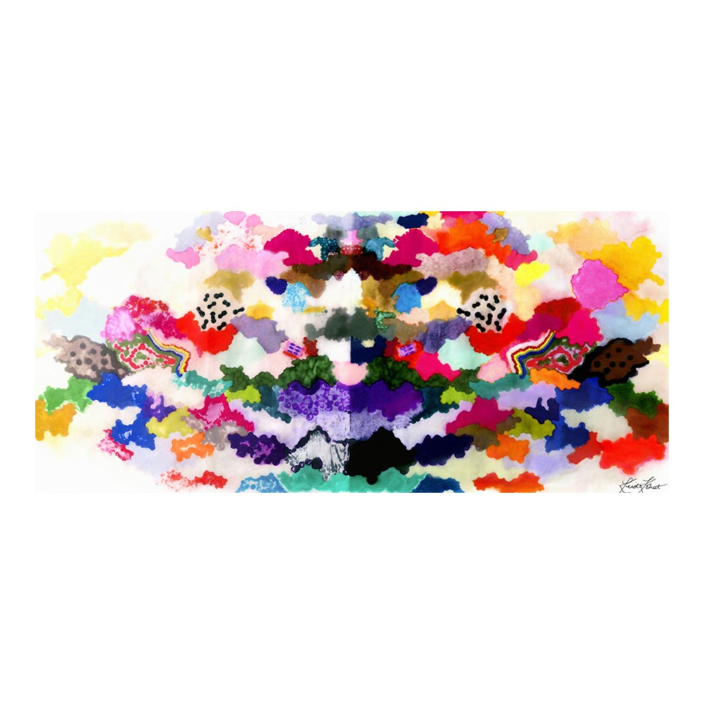 COLORFUL WORLD - TRADITIONAL GALLERY PRINTCANVAS GALLERY WRAPLUXE LUCITE SHADOWBOX