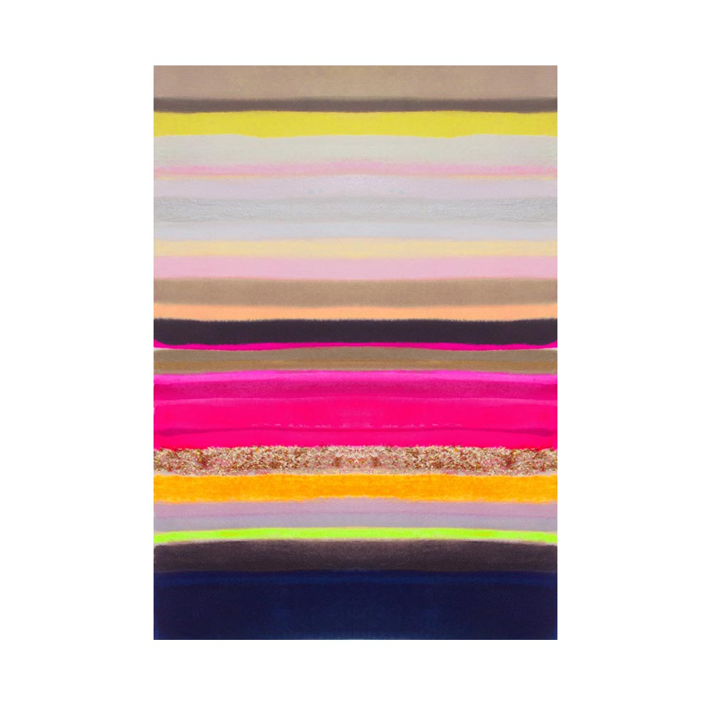 STRIPES 35 - TRADITIONAL GALLERY PRINTCANVAS GALLERY WRAPLUXE LUCITE SHADOWBOX