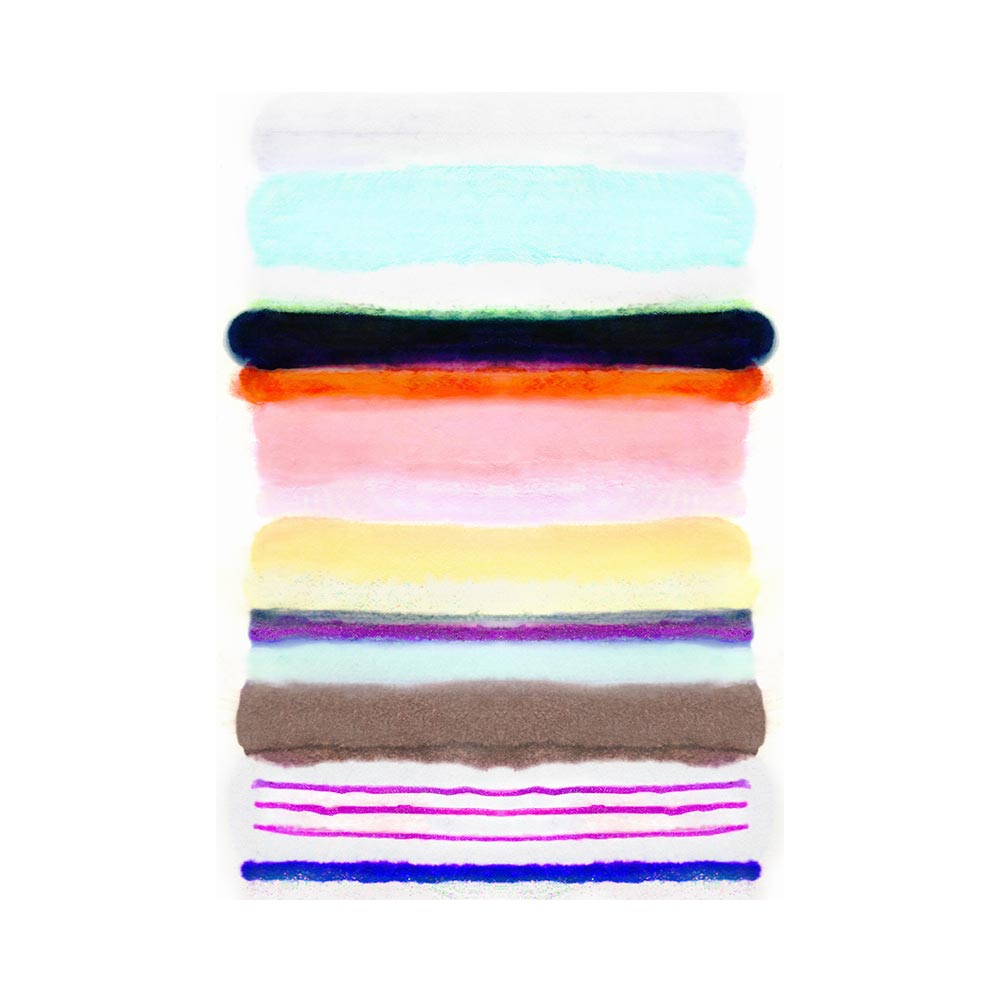 CANDY COATED STRIPE - TRADITIONAL GALLERY PRINTCANVAS GALLERY WRAPLUXE LUCITE SHADOWBOX
