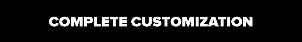Customize when adding to your cart    Let's get creative