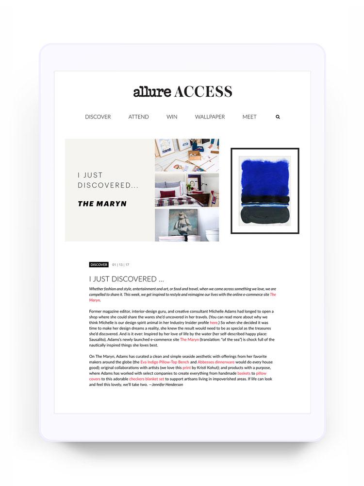 Allure Access