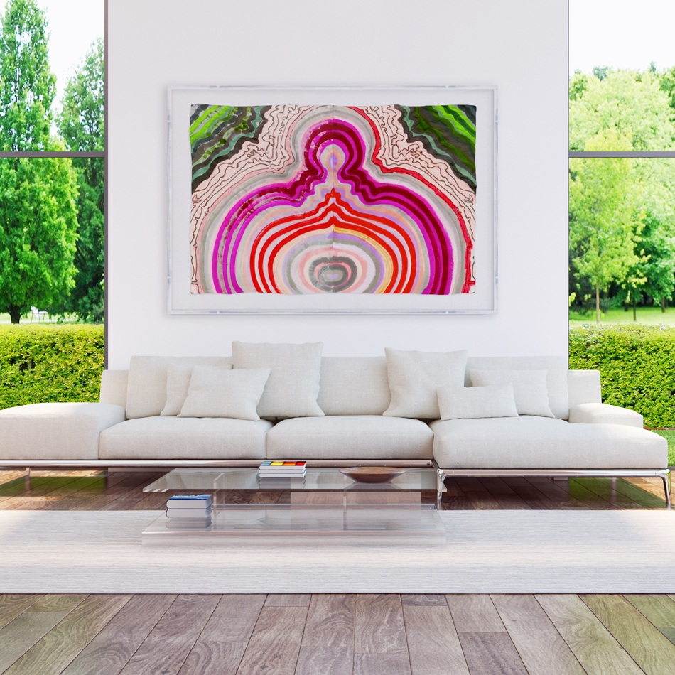 VIEW KRISTI'S ART IN COLLECTOR'S HOMES - Get inspired…