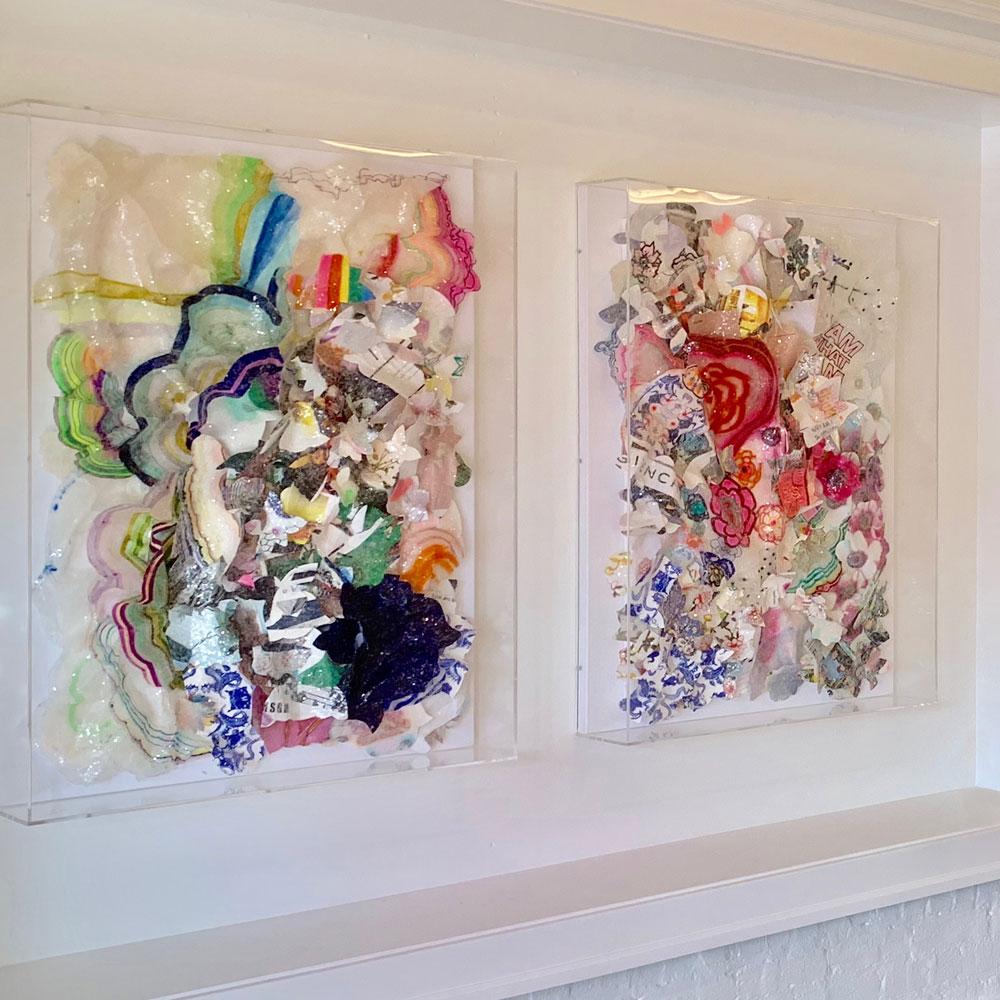 Kristi Kohut Studio Framing Originals