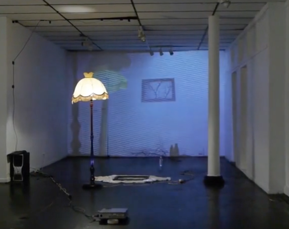 Domestic Scene /  Project    Augmented Reality Installation