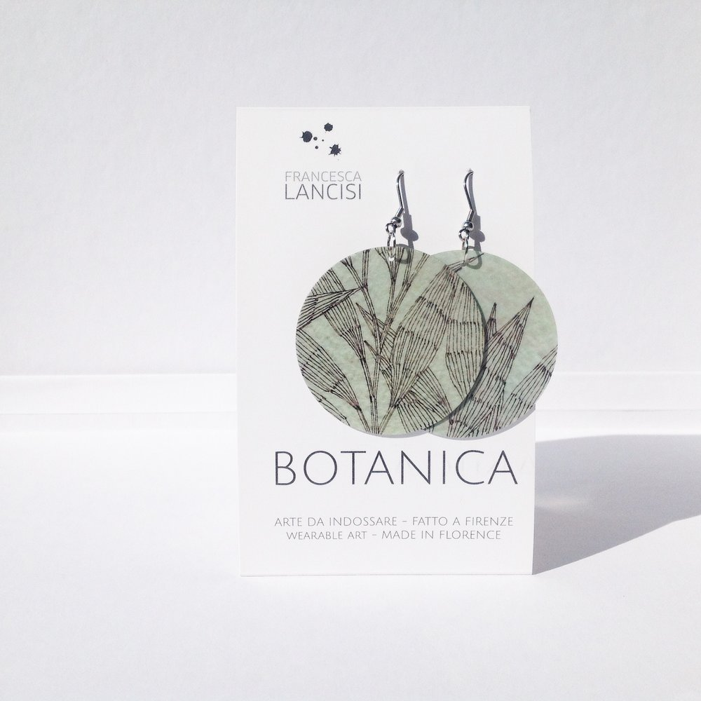 BOTANICA EARRINGS - ORECCHINI BOTANICA
