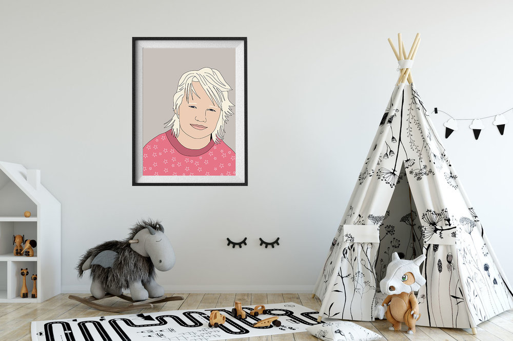 KIDS PORTRAITS - RITRATTI