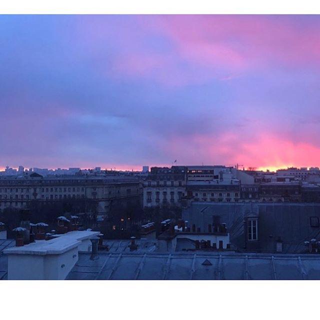 #goodmorning #paris #fashionweek #aw18