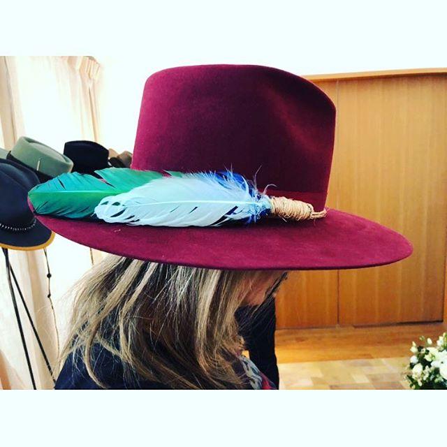 #nickfouquet #hat #aw18 @waywarddebutante 🎩❤️