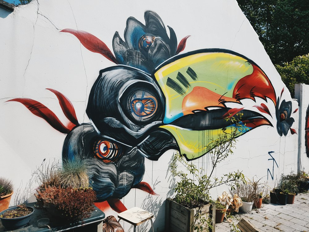 wall painting // private property // Beersel // 2016