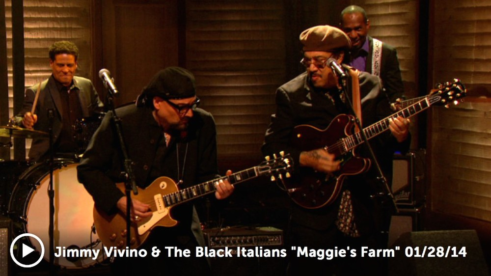 Jimmy Vivino & the Black Italians on Conan