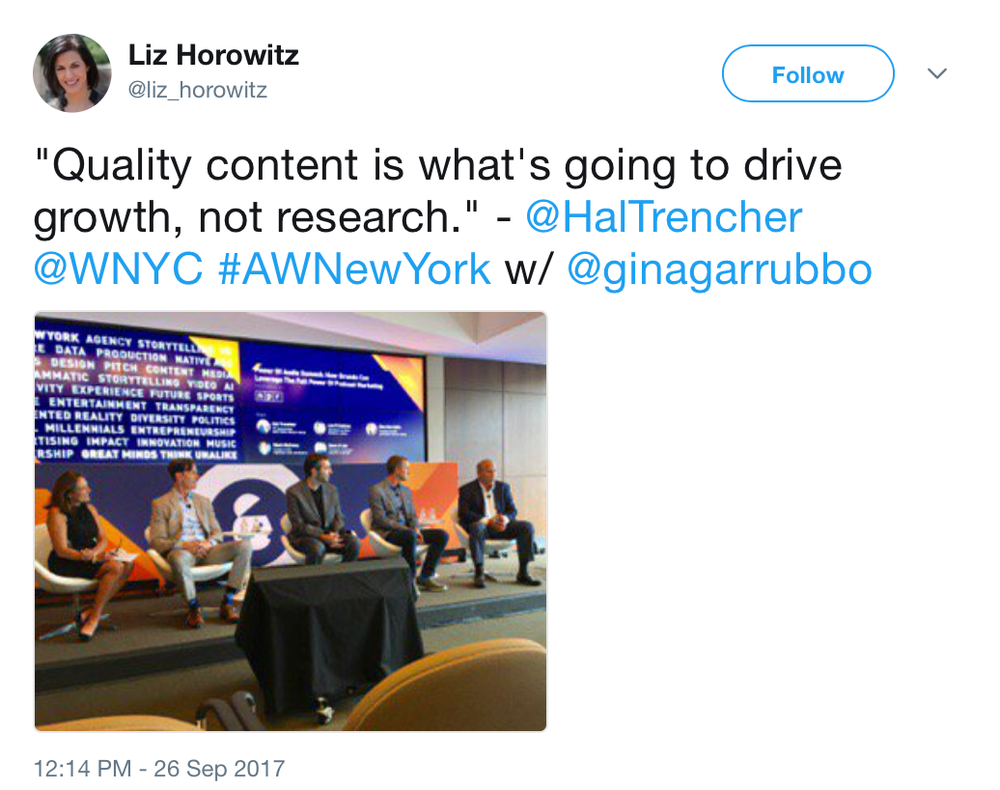 Liz_Horowitz_on_Twitter____Quality_content_is_what_s_going_to_drive_growth__not_research___-__HalTrencher__WNYC__AWNewYork_w___ginagarrubbo_https___t_co_CR1Ct8pUBL_.png