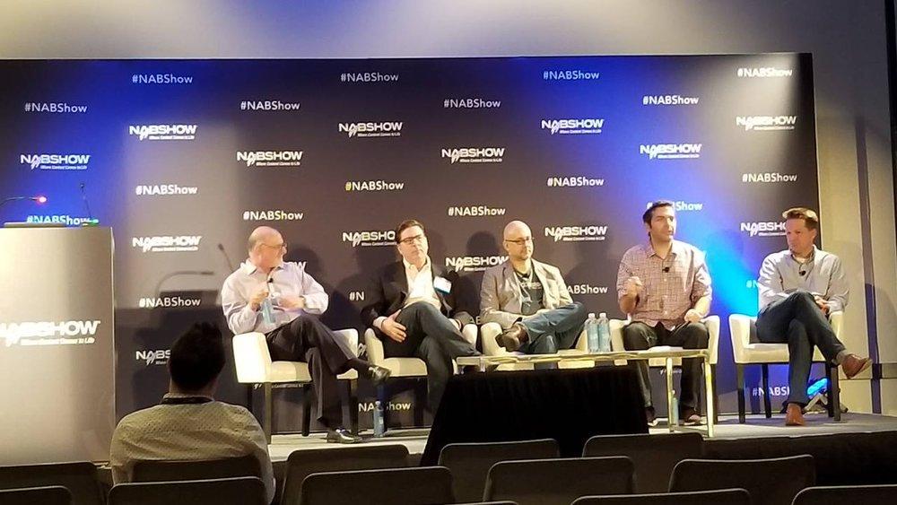 L/R Steve Goldstein, John Rosso, Rob Walch, Lex Friedman, Brendan Monaghan