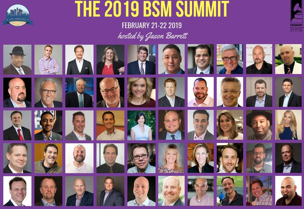 I'm looking forward to speaking at the BSM Sports Summit in LA talking about podcasting and smart speakers.
