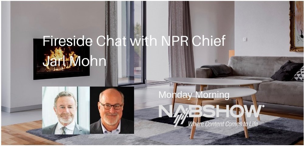 I am looking forward to interviewing NPR President/CEO Jarl Mohn, Monday morning as part of the NAB Influencer series. Hope you will join us.
