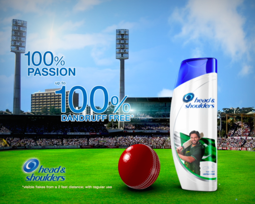 Head & Shoulders: Shahid Afridi Limited Edition Tag-On