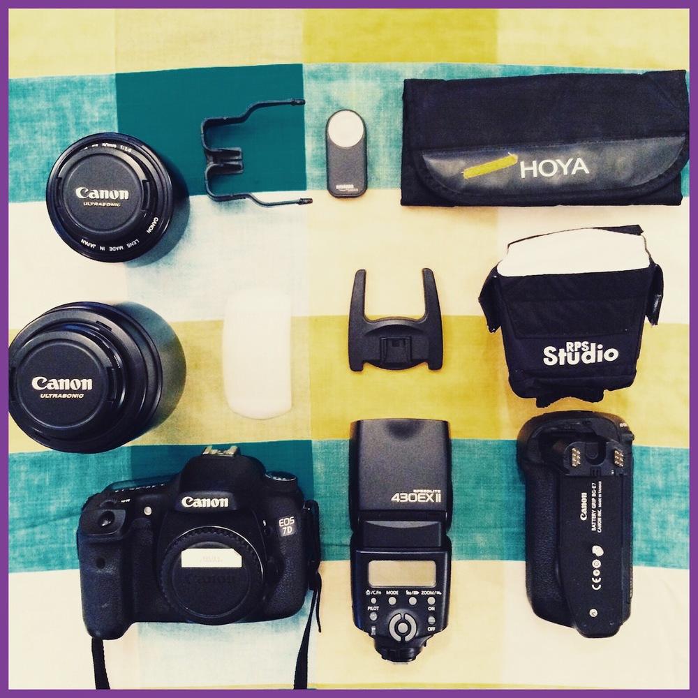 My Camera Gear