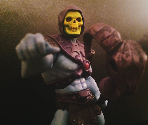 Skeletor and the Havoc Staff