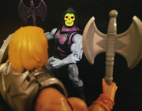 Battle Armor He-Man & Skeletor (MOTUC)