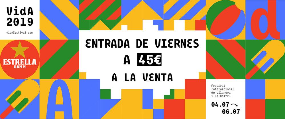 COMPRA AQUÍ TU ENTRADA PARA EL VIERNES!