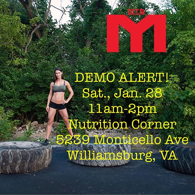 It's a beautiful day!!! Come on down to Williamsburg Nutrition Corner to try the best tasting protein on the market.  #mts #mtsnutrition @thenutritioncorner #thenutritioncorners