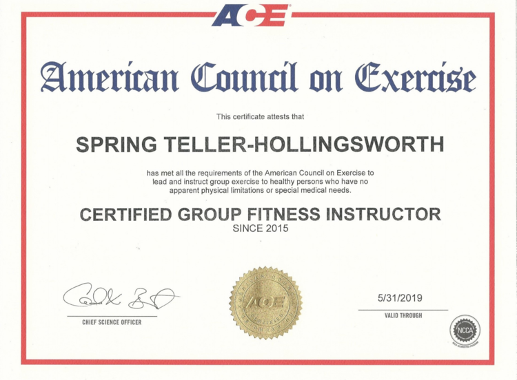 Stf Spring Teller Fitness
