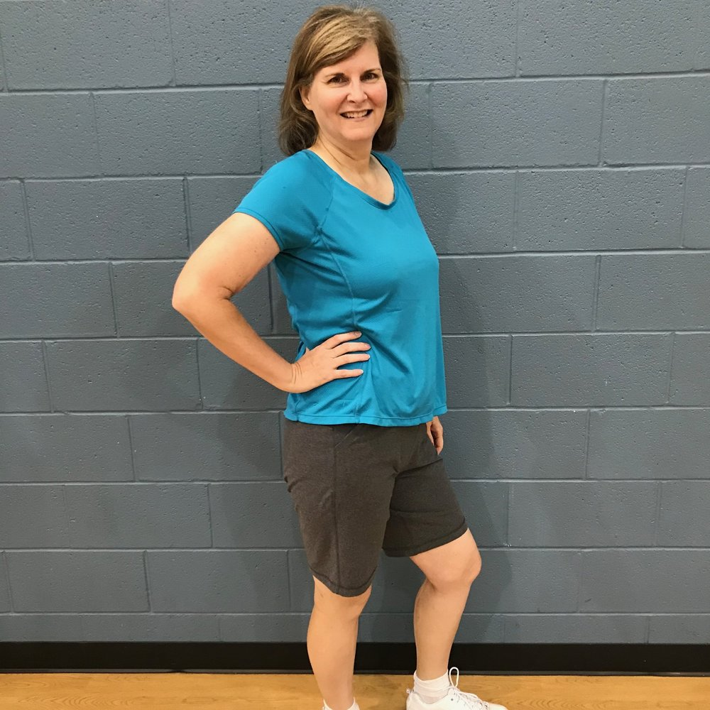 """I joined the Lift Me Up Challenge in January of this year. The program was easy to follow with recipes and weekly workouts. It has completely changed the way I eat and I have been able to maintain all these months later. Spring is always encouraging and available to answer questions. I have lost 56 lbs and counting!!"" -Lisa Hanson, Challenge Participant and Small Group Training Client -"