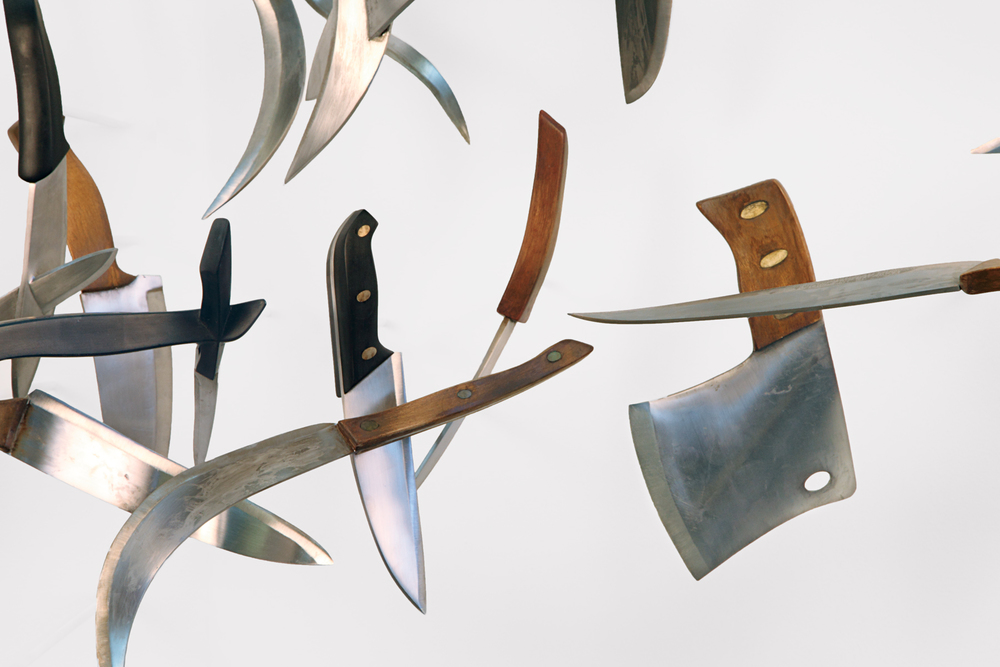 knives , detail
