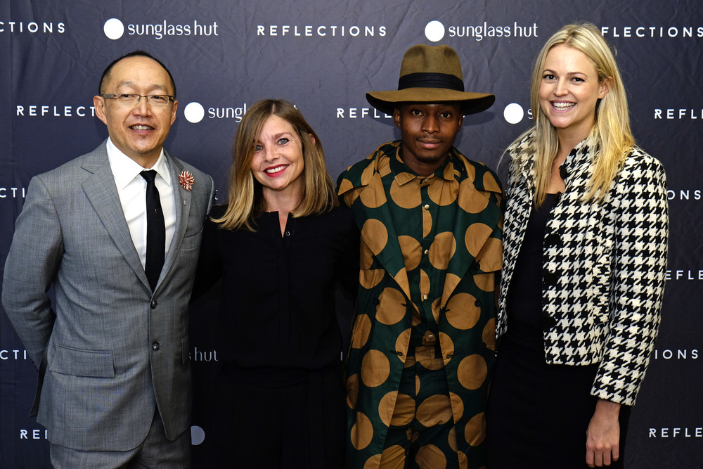 Source: Pressroom - from left to right: Dion Chang,  Emilie Gambade,  Trevor Stuurman &  Emma Sadleir,