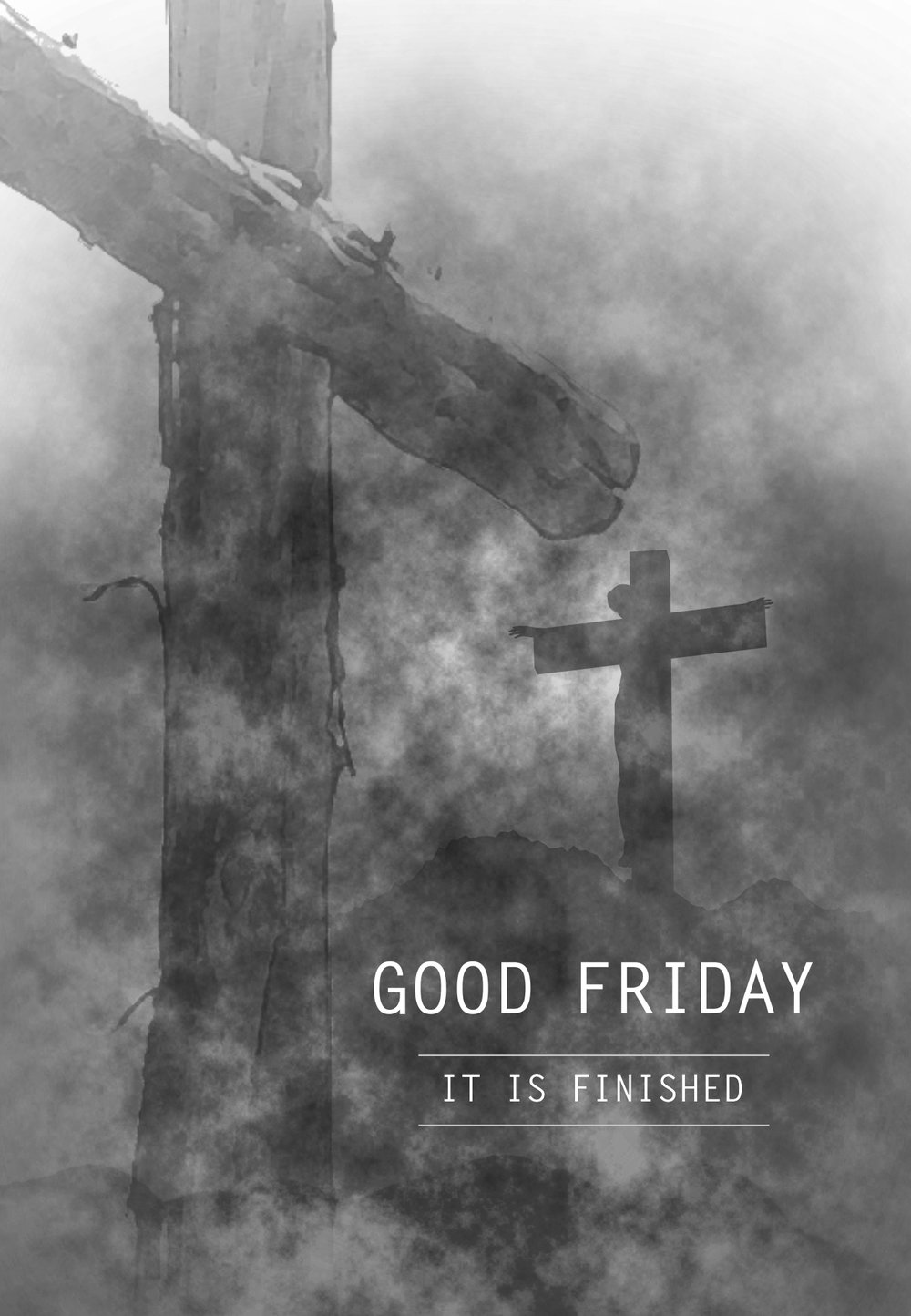 The Good Friday Liturgy does not include Holy Communion, symbolizing Jesus' departure on the cross. The liturgy is a combination of readings, reflections and choral interludes. It is a somber service. - Click image for more information about this service.