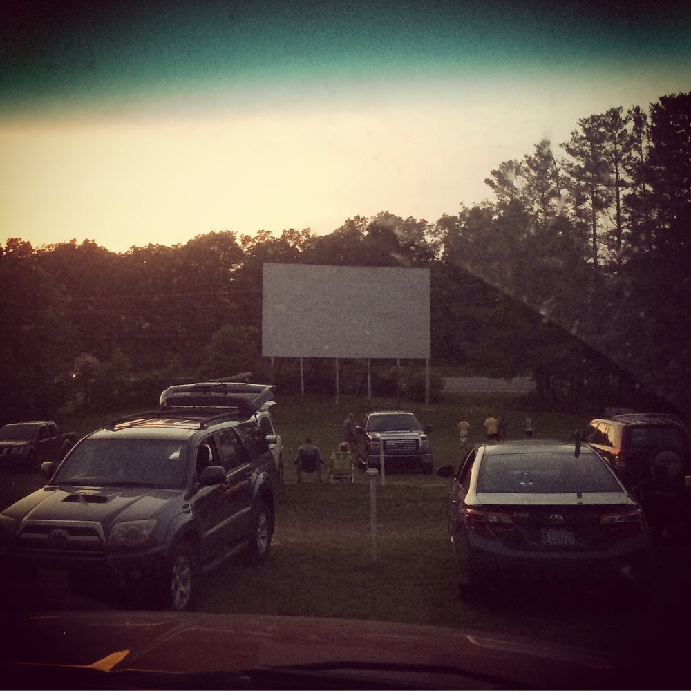 We well deserve dinosaur break at the local drive-in