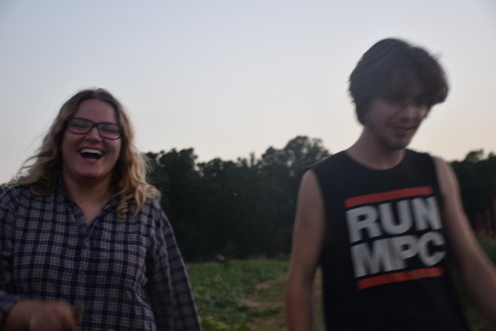 Austeja and Gabe.