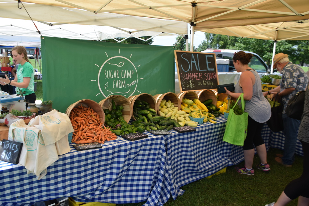 Our market stand