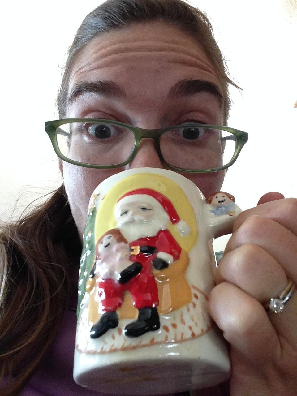I got this funny christmas mug!