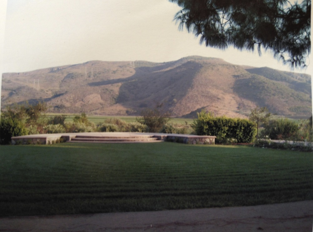 This is all there was to Maravilla Gardens the first year. The view was everything.