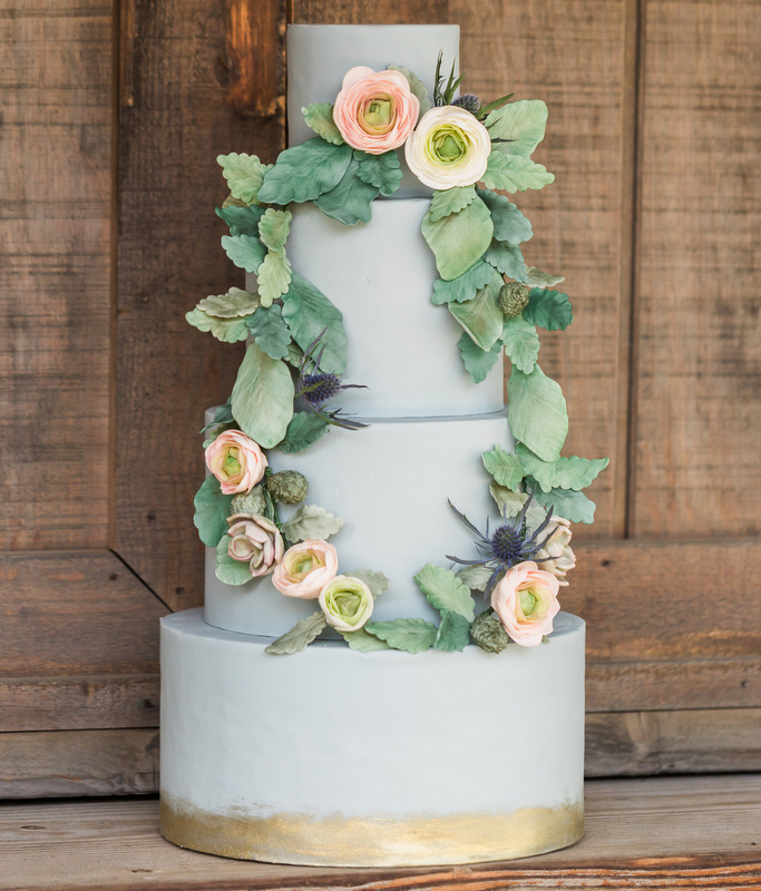 Photo by  Katie Jackson Photography  and cake by  Frost It