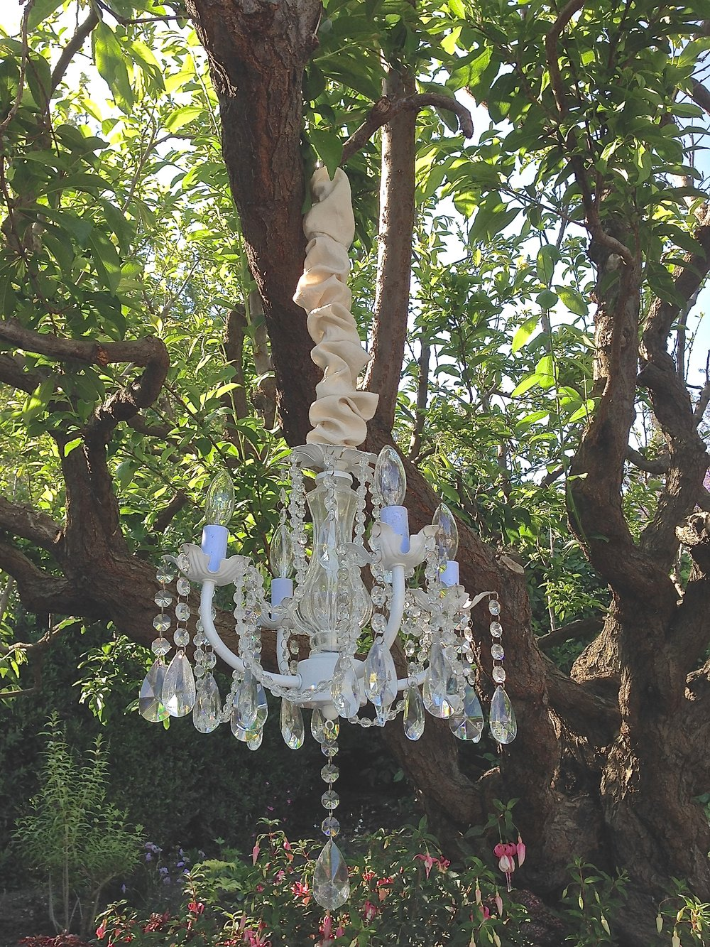 MODERN CRYSTAL CHANDELIER - $35