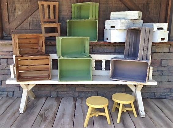 CRATES (SETS OF 2) - $15
