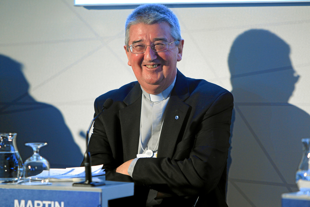 Archbishop of Dublin Diarmuid Martin, one of the most impressive voices for reform and repentance in the Irish church.  (credit: http://www.flickr.com/photos/worldeconomicforum/8417299148/)