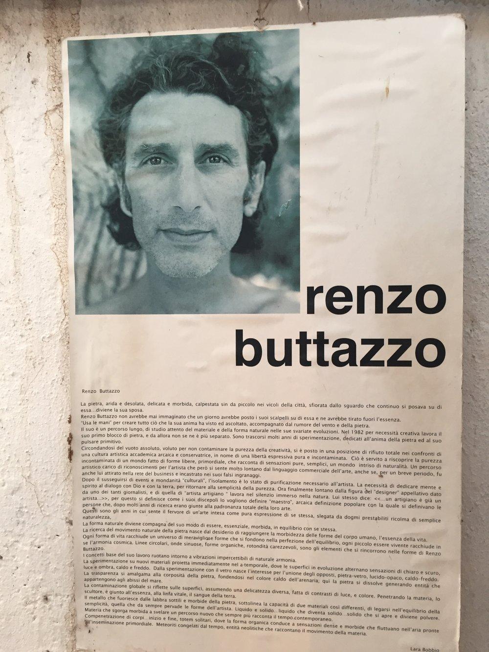 young Renzo Buttazzo
