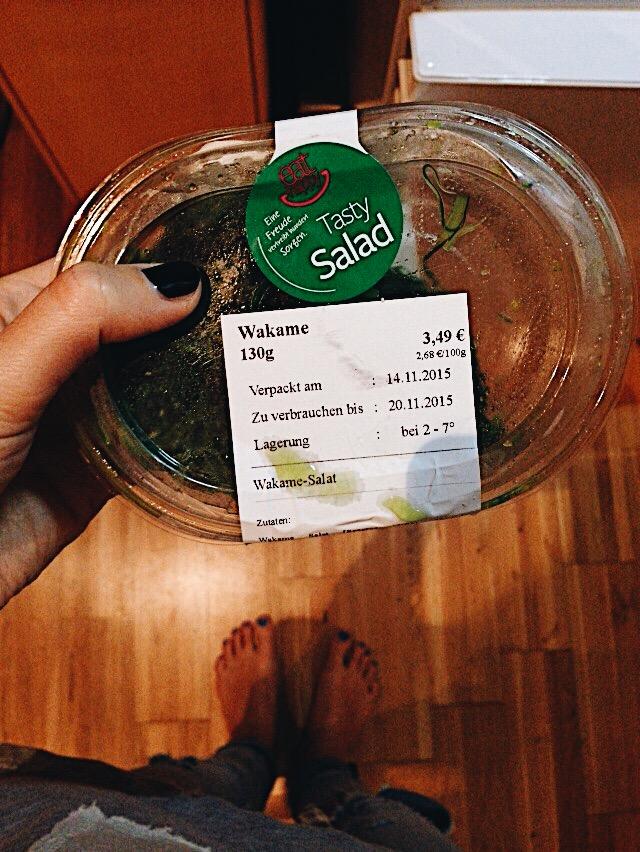 her salad was more expensive..Vienna, Vienna..
