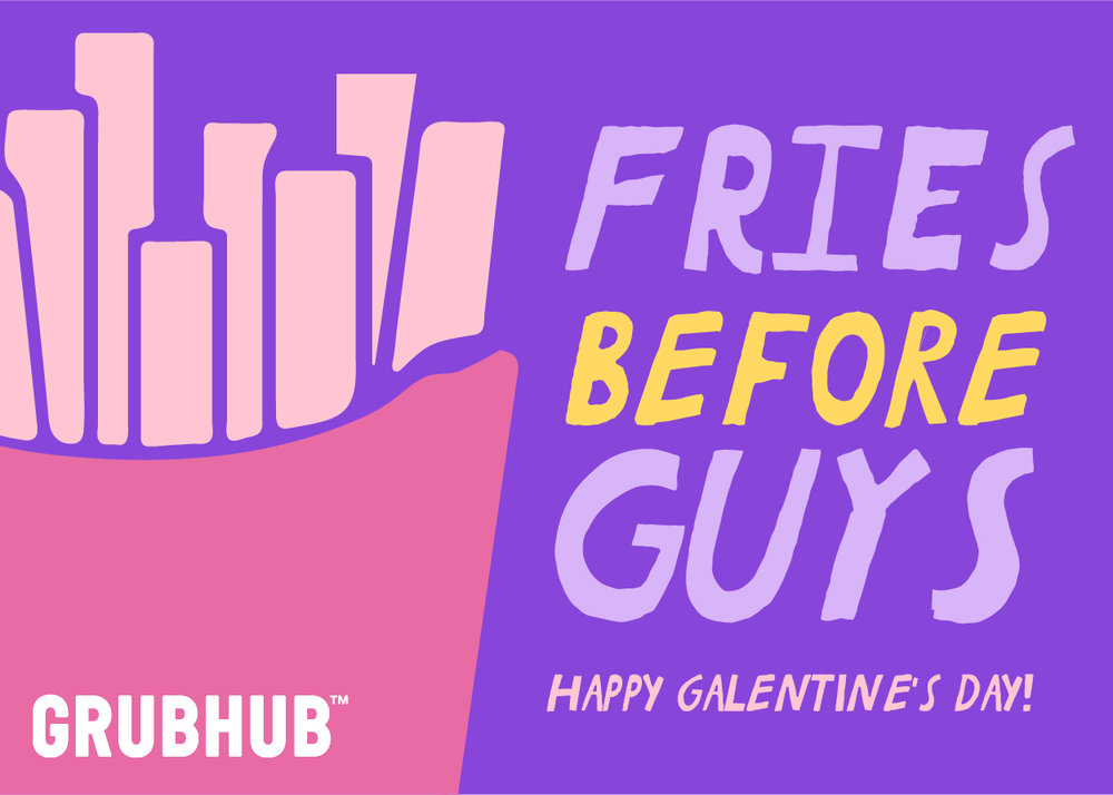GRUBHUB — Megan Weeks Design