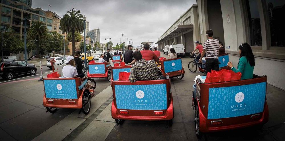 Uber San Francisco Pedicab Fleet