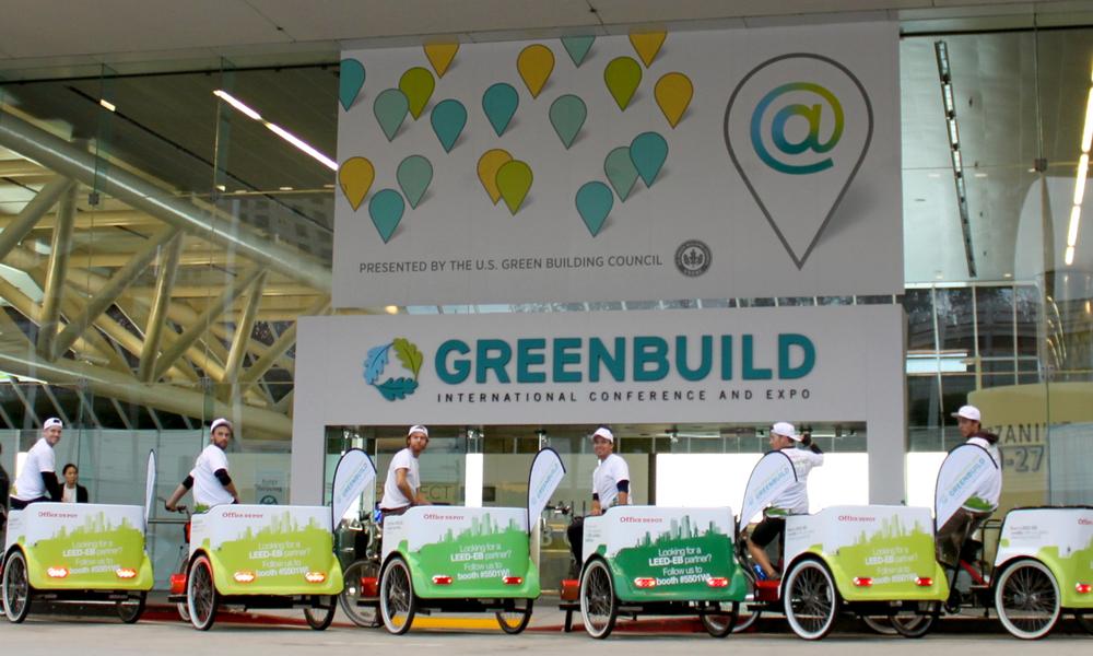 Greenbuild Pedicab Sponsorship