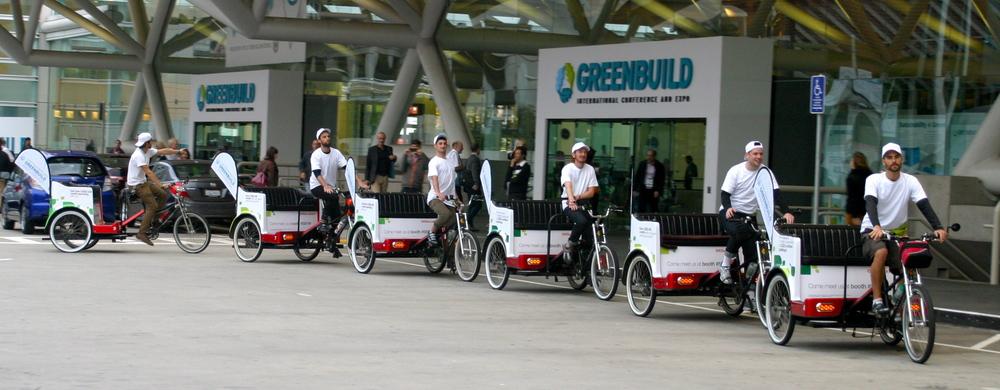 Pedicab Train!