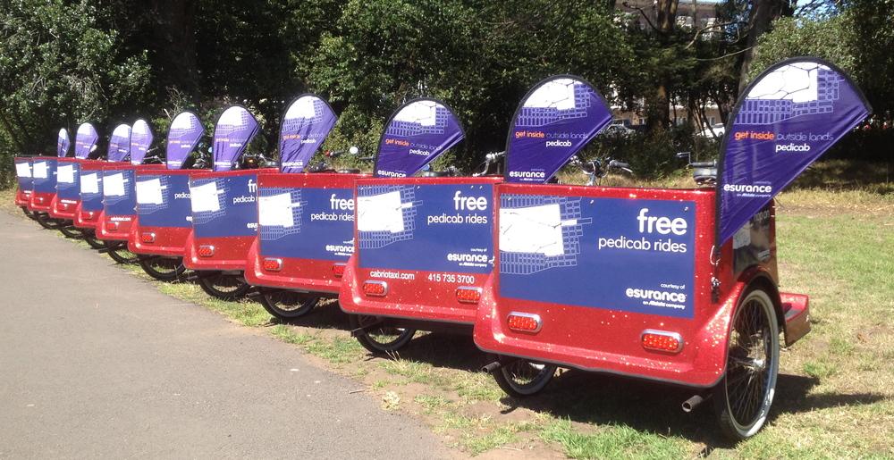 Esurance Pedicabs at Outside Lands 2012 (1).jpeg