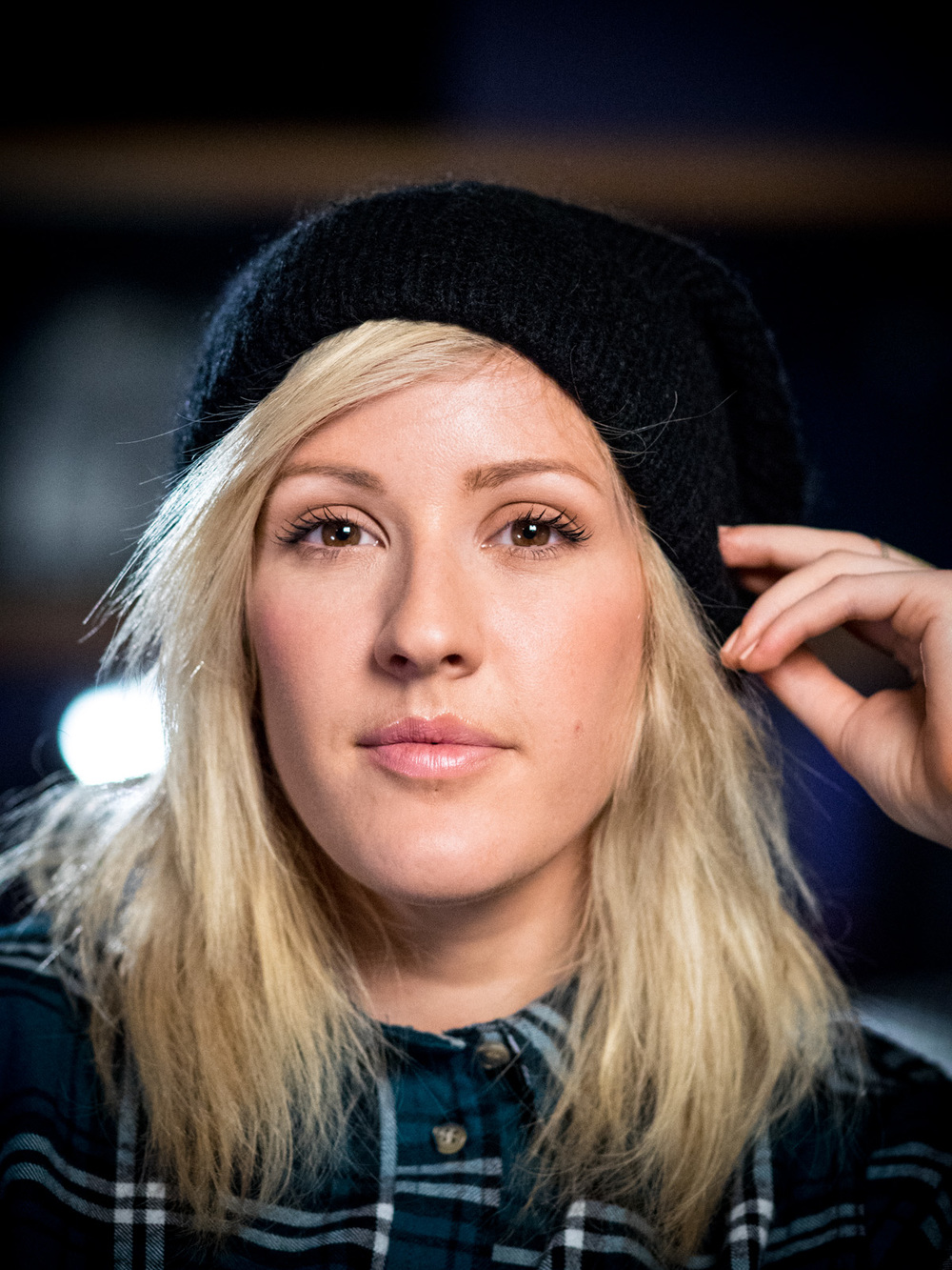 Ellie Goulding at Abbey Road Studios, London