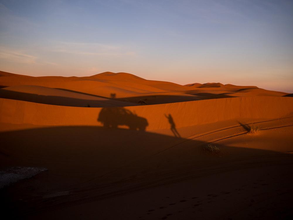 Sahara 4x4 Stopped
