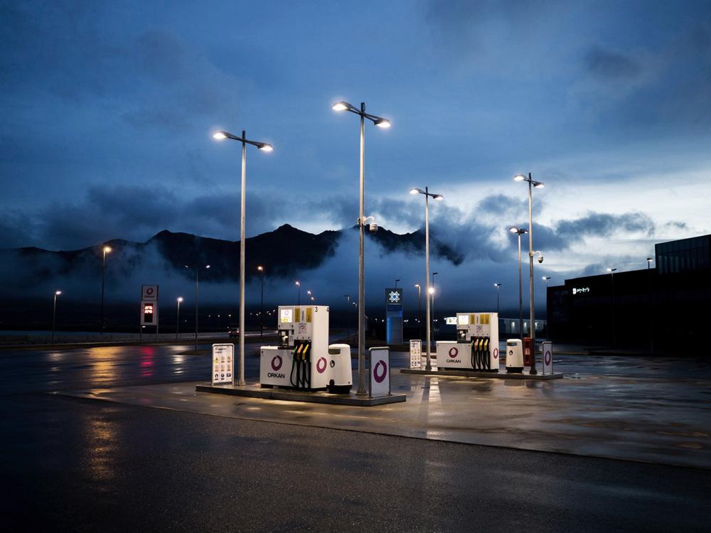 Petrol Station, Western Iceland