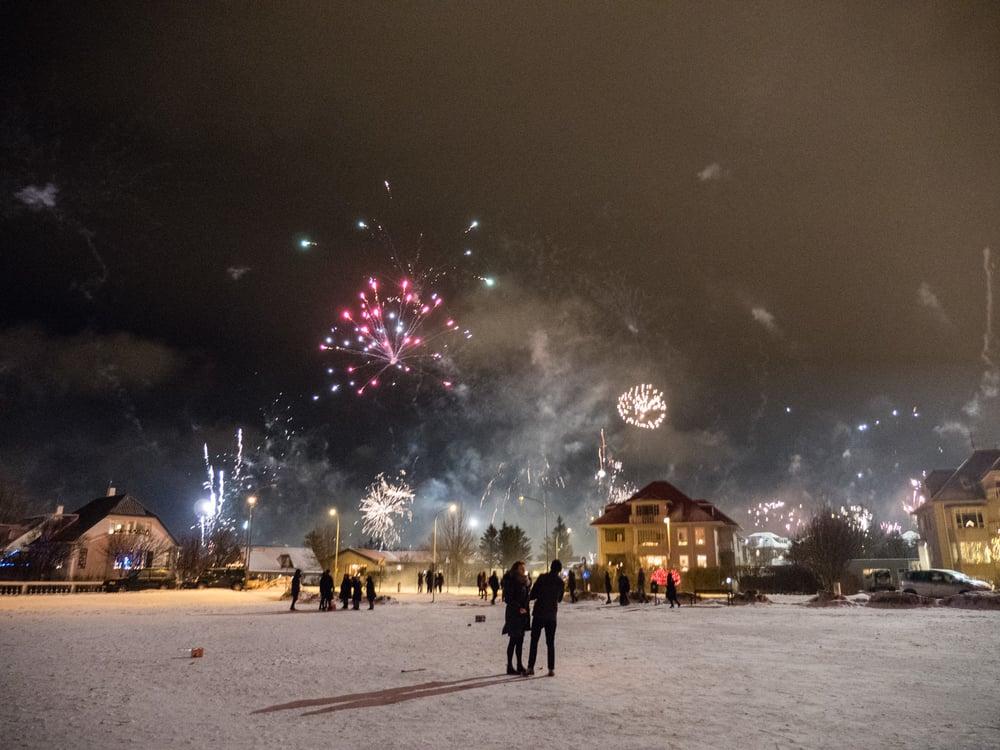 New Years, Reykjavik Midnight January 2016